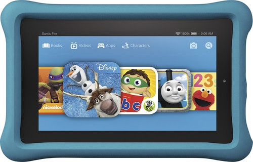 "Amazon - Fire Kids Edition - 7"" Tablet - 16GB"