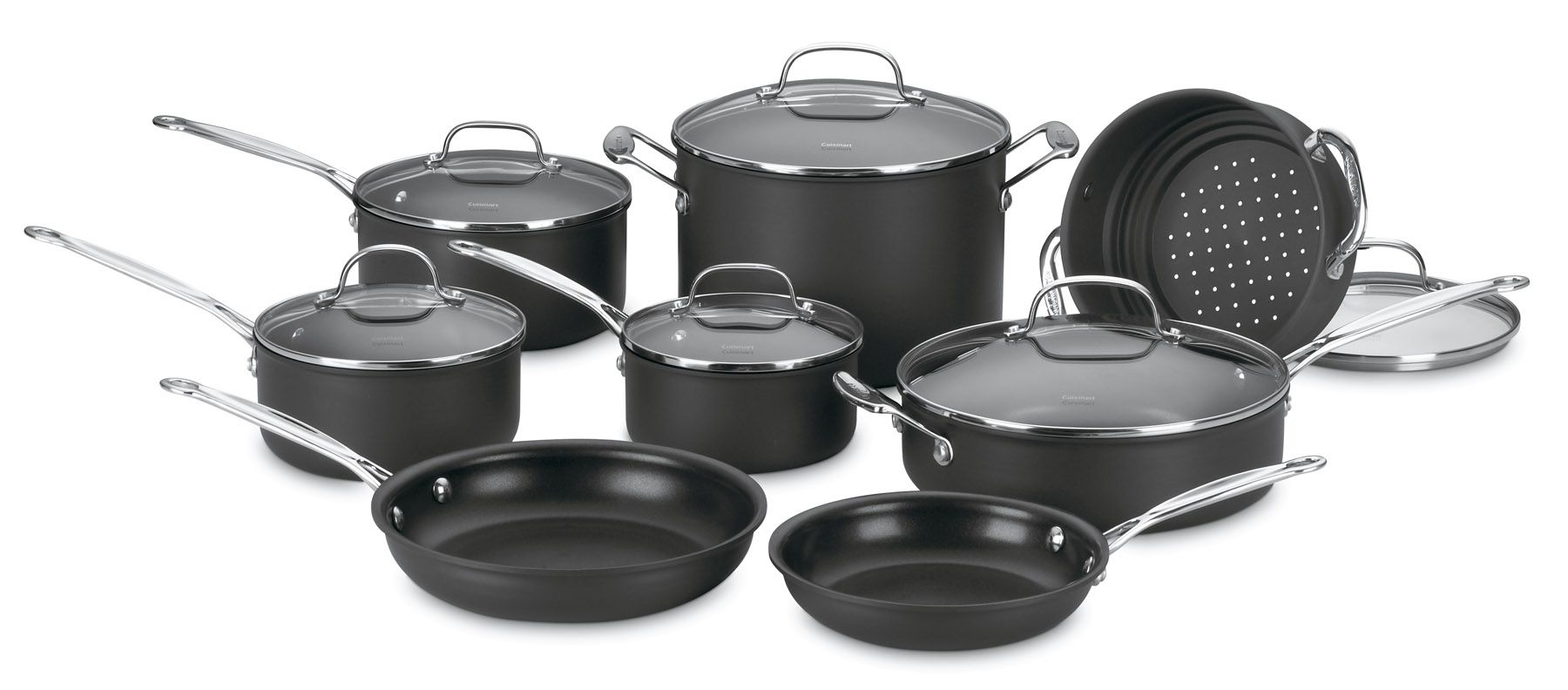 Cuisinart 14-Piece Chef's Classic Non-Stick Cookware Set