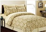 8-pc Ornate Damask Bed in a Bag Set