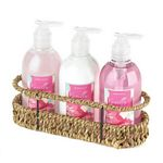 Woven Basket Shower Set