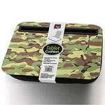 Camouflage Print Tablet Cushion