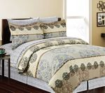 8-pc Jacquard Print Bed in a Bag Set