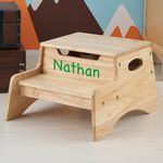 Personalized Step %27N Store Stool