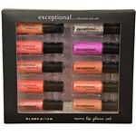 Exceptional Because You Are 10 Piece Mini Lip Gloss Set