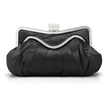 Elegant Satin Soft Frame Evening Clutch