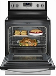 Whirlpool - 5.3 Cu. Ft. Self-Cleaning Freestanding Electric Range - Stainless steel