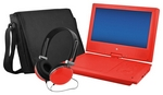 "Ematic-9"" Portable DVD Player with Swivel Screen"