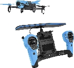 Parrot Bebop Drone with Skycontroller Blue
