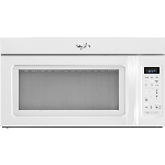 Whirlpool 1.7 Cu Ft Over-the-Range Microwave White