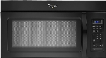 Whirlpool 1.7 Cu Ft Over-the-Range Microwave Black