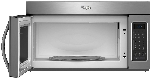 Whirlpool 1.7 Cu Ft Over-the-Range Microwave Stainless Steel