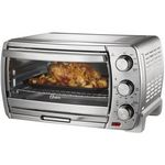 Oster - Convection Toaster/Pizza Oven - Brushed Chrome