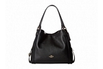 Coach Edie 31 Shoulder Bag - Light Gold/Black