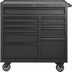 Insignia™ - 41-in.10-Drawer Rolling Tool Cabinet
