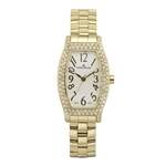 SARA - Women%27s Giorgio Milano Stainless steel IP gold with Swarovski bezel