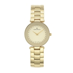 MIMA - Women%27s Giorgio Milano Stainless steel IP gold, Gold with Swarovski crystal