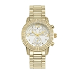 VALENTINA - Women%27s Giorgio Milano Stainless steel IP gold with Swarovski bezel and set Swarovski