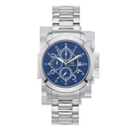 ENZO - Men%27s Giorgio Milano Stainless Steel Watch and Three Dials