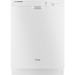 "Whirlpool 24"" Tall Tub Built in Dishwasher White"