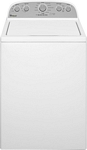 Whirlpool - Cacbio 4.3 Cu.Ft 12 Cycle High-Efficience Top-Loading Washer (white)