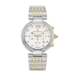 VENEZIA - Women%27s Giorgio Milano Stainless steel IP gold with h blue Swarovski crystal