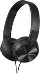 Sony - Noise - Canceling Wired On - Ear Headphones