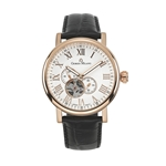 HIGHLANDER - Men%27s Giorgio Milano Stainless Steel IP Rose Gold Watch with Roman Numbers