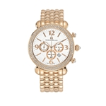 GABRIELLA - Women%27s Giorgio Milano Stainless steel IP rose gold with Swarovski bezel & Date