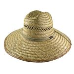 Men%27s Rush Straw Hat with Chin Cord