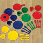 27-Piece Primary Cookware Playset