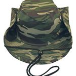 Men%27s Outdoor Bucket Hat with Chin Cord - Camo