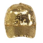 Ladies Sequins Covered Ball Cap