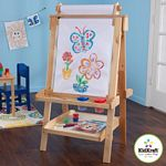 Deluxe Wood Easel w/ Paper Roll - Natural