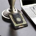 Men%27s Personalized Black Money Clip & Credit Card Holder