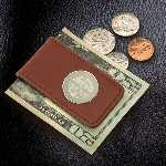 Men%27s Personalized Money Holder with Magnetic Closure