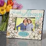 Personalized Floral Bloom Friendship Frame