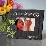 Personalized Rustic Best Friends Frame