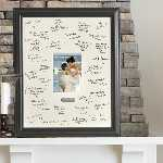 Writable Warm Wishes Engraved Frame
