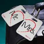 Personalized Mr & Mrs Luggage Tags