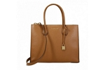 Michael Kors Mercer Large Convertible Tote-Acorn