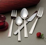 20 Piece 18/10 Flatware Set-Clara Design