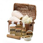Vanilla Bath & Body Essentials Basket