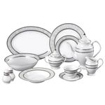 49-Piece Delicate Porcelain Dinnerware Set