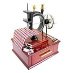 Music Box- Vintage Sewing Machine