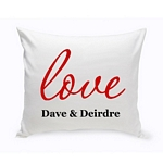 Couples Unity Throw Pillow