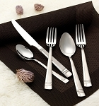20 Piece 18/10 Flatware Set - Satin Finish