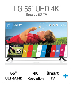 "LG 55"" UHD 4K Smart LED TV"