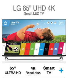 "LG 65"" UHD 4K Smart LED TV"