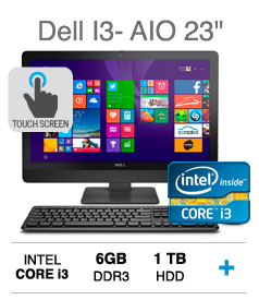 "23"" All in One WLED FHD Touch Display Dell Desktop"